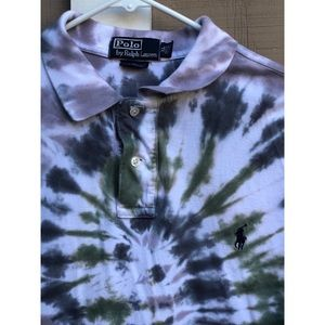 1 or 1 Tie Dye Ralph Lauren Polo